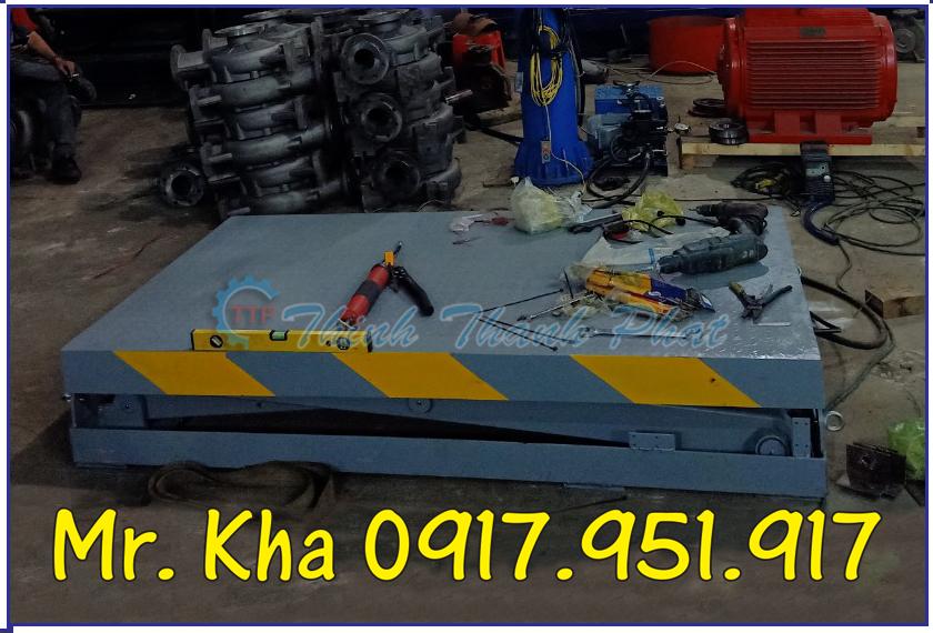 Ban nang thuy luc 500Kg TTP01