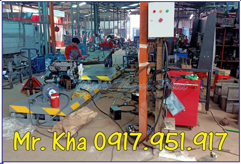 Ban nang thuy luc 500Kg TTP02