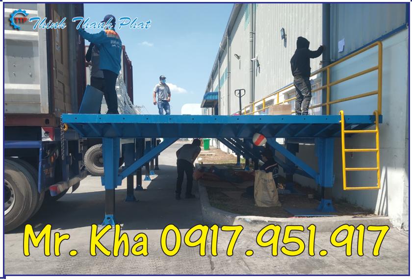 Platform ho tro dong rut hang container 02